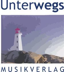 Logo Unterwegs Musikverlag in Retina-Auflösung