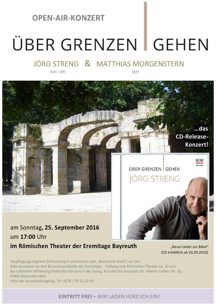 Plakat Release-Konzert komp